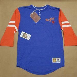 Mitchell & Ness New York Mets Raglan T-Shirt Men M